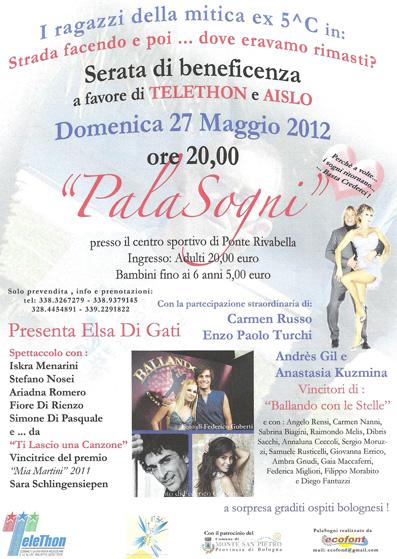 Spettacolo beneficenza Bologna